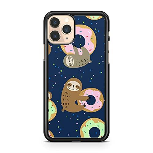 Funda para teléfono con diseño de lunares y rosquillas (modelo de teléfono: Huawei P8 Lite (2017))