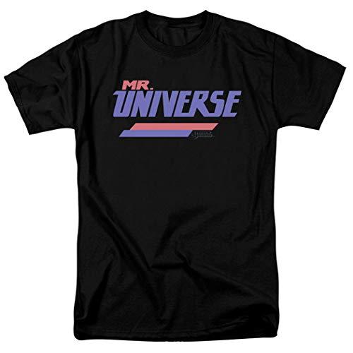 Steven Universe Mr. Universe Cartoon Network T Shirt & Stickers (Large) Black