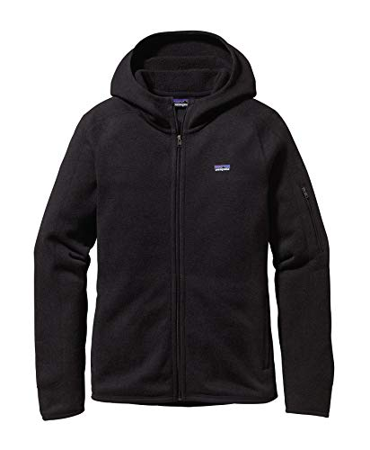 Patagonia – Better Sweater Hoody, Schwarz, Gr. uk-20