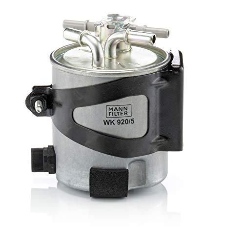 Original MANN-FILTER Filtro de Combustible WK 920/5 – Para automóviles