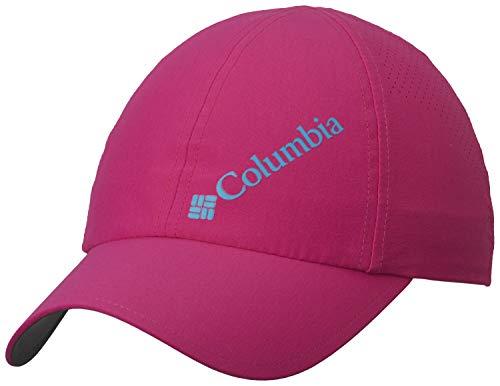 Columbia Gorra de béisbol unisex, Silver Ridge III Ball Cap, Nailon, Rosa (Haute Pink), Talla: O/S, 1840071