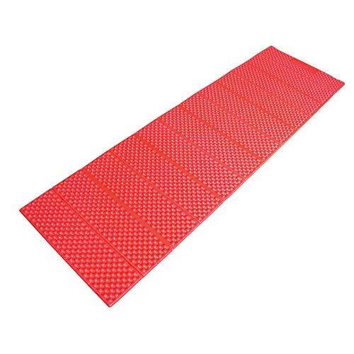 AceCamp Chill Star isolierende Iso-Liege-Matte, äußerst robust und ultra leicht, Faltbare und wasserdicht, Rot, 311g, 186 x 56 x 1 cm, 3941