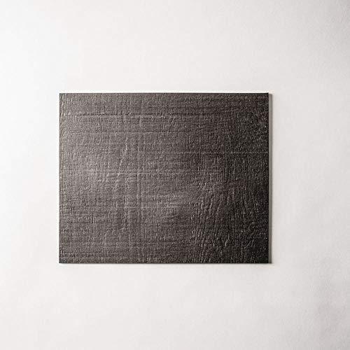 Schönhuber Franchi Slash Plato Rectangular 34,8 x 27,7 cm. Negro