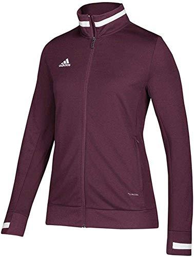 adidas Team 19 Track Jacket - Women's Multi-Sport M Maroon/White