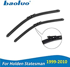 Wipers Hukcus Wiper Blades For Holden Statesman WH WK WL WM 1999 2000 2001 2002 2003 2004 2005 2006 2007 2008 2009 2010 Car Accessories - (Item Length: 1999-2002 (WH))