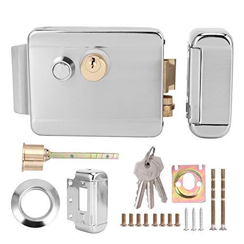 Serratura elettrica a bobina di plastica per esterni, serratura elettrica per controllo accessi, doppia per case di sicurezza domestica Controllo accessi Cancello antifurto Cancelli