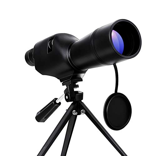 Pinty 20-60x60 Waterproof Straight Spotting Scope with Tripod, Optics Zoom 36-19m/1000m for Target Shooting Bird Watching Hunting