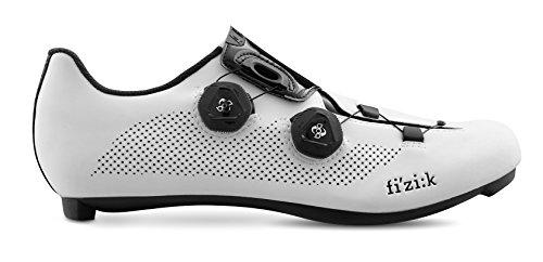 Fizik R3 ARIA Shoes, White/Black, Size 44.5