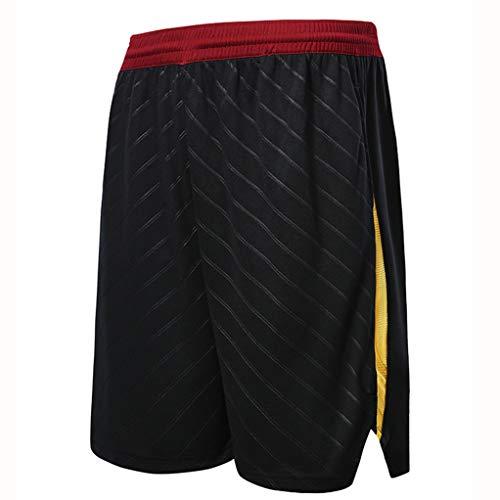 Pantalones De Baloncesto Hombres'deportes De Entrenamiento Cinco-Pantalones De Punto sobre La Rodilla Niños Baloncesto Corriendo Pantalones Cortos Casuales(Múltiples Colores Y Esti-S XS