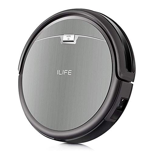 ILIFE A4s Robot Vacuum Cleaner with Powerful Suction and Remote Control, Super Quiet Design for Thin...