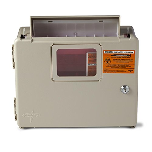 Medline - MDS707953H MDS707953 Locking Sharps Container Cabinet