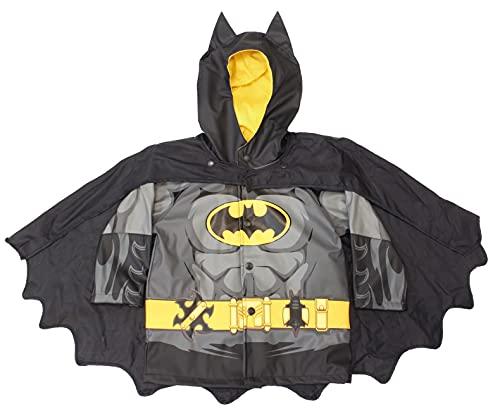 Western Chief Kids Boy's Batman Caped Crusader Raincoat (Toddler/Little Kids) Black Fa14 2T Toddler