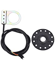 Gorgeri Fiets assistent sensor, elektrische fiets pedaal 12 magneten E-bike PAS systeem assistent sensor snelheidssensor