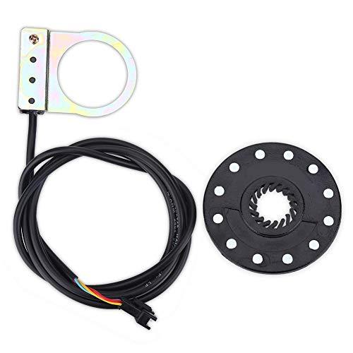 Outbit Sensore di Assistenza per Bicicletta elettrica - Pedale per Bicicletta elettrica 12 magneti Sensore di velocità del sensore di Assistenza del Sistema PAS per Bici elettriche