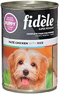 Fidele Puppy Pate Chicken and Rice 400-gm