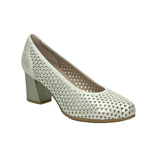 Zapatos pitillos 5553 señora Dorado