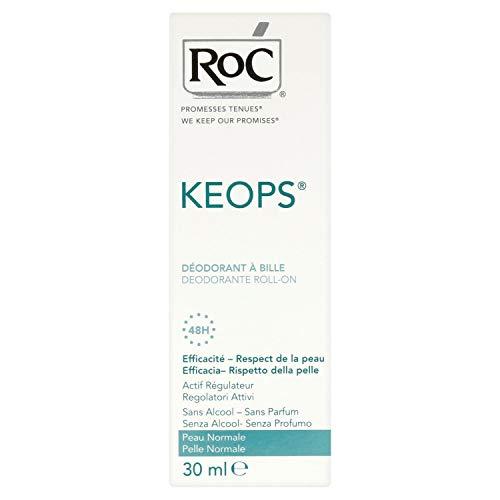 Keops Deodorant mit Kugel, ohne Alkohol, Effizienz 48 h