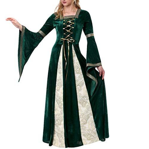 Kleid Damen Elegant Weant Weant Mittelalter Bild