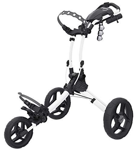 Clicgear Rovic Model RV1C Compact | 3-Wheel Golf Push Cart (Arctic/White)