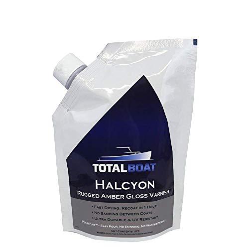 TotalBoat Halcyon Marine Varnish