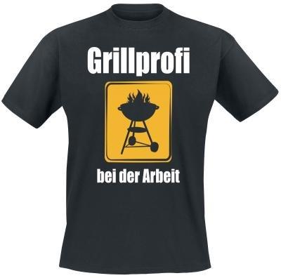 Grillprofi op het werk T-shirt maat XXL - Het shirt voor BBQ fans!