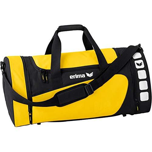 Erima Sporttasche, Gelb/Schwarz, M, 49.5 Liter, 723333