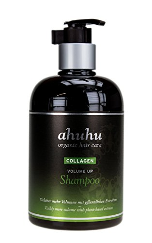 ahuhu organic hair care Collagen Volume Up Shampoo 500ml - silikonfrei