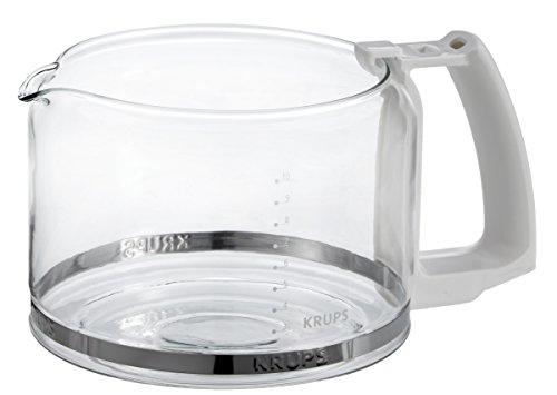 Krups F 034 70 Glaskrug 10 Tassen Espresso-/Kaffeemaschinenzubehör weiss