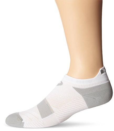 ASICS Lite-Tech Single Tab Running Socken, Herren Damen, weiß, Large