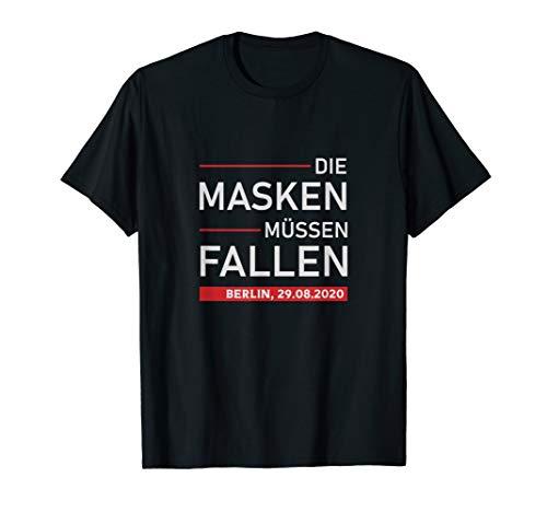 Berlin 29.08. Querdenken Demo, Protest, Maskenpflicht T-Shirt