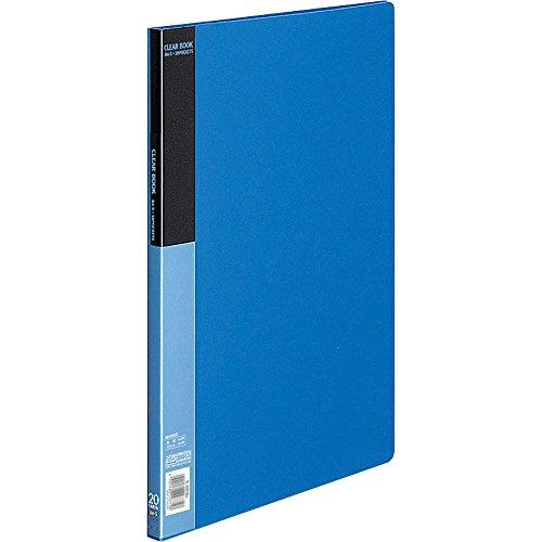 コクヨ ファイル クリアファイル ベーシック B4 20枚 青 ラ-B24B