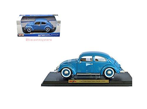 Maisto 1:18 Special Edition - 1955 Volkswagen Kafer-Beetle Die Cast Vehicles