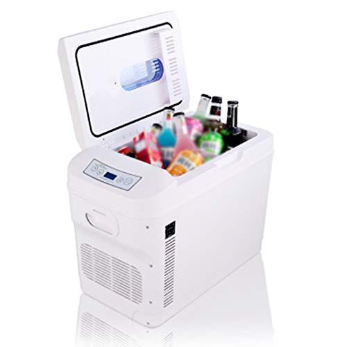 GAOXIAOMEI 28 litros Compact Cooler Warmer Mini Frigorífico para Dormitorio, Oficina, Automóvil, Dormitorio - Maquillaje Portátil Nevera De Cuidado De La Piel con Control De Temperatura Digital