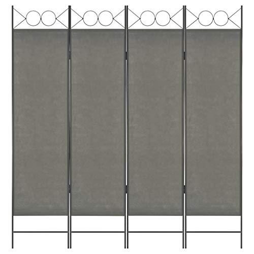 VidaXL Biombo Divisor 4 Paneles 160x180 cm Hogar Interior