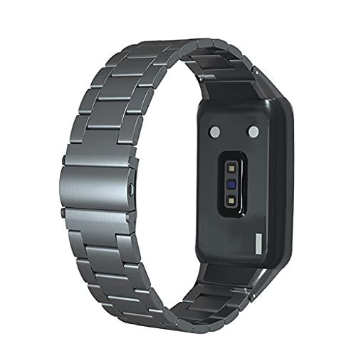 Wenyounge Huawei Band 6 Sport Band Watch Band Pulsera de Metal para Huawei Band 6 Reemplazo de Pulsera Inteligente