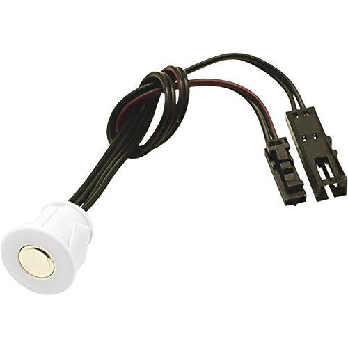 Furnika 10.05.06/W Touch Dimmer TD01 12 V/DC chrom, ideal für Led-Bänder, Lampen, Aussen und Innen- Leuchten, Unterbauleuchten