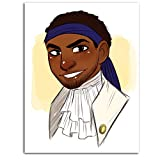 Lienzo de pintura musical estadounidense DRAGON VINES Hamilton Broadway Comics La batalla de Hamilton Cabinetface (5).Png Póster de 61 x 91 cm