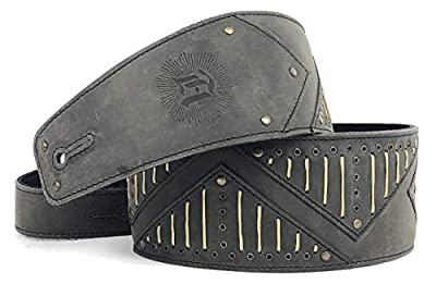 Heavy Metal Leather Guitar Straps Only Guitar Straps