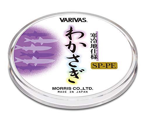 VARIVAS(バリバス) ライン わかさぎ専用PEライン パープル 30m 0.175号.