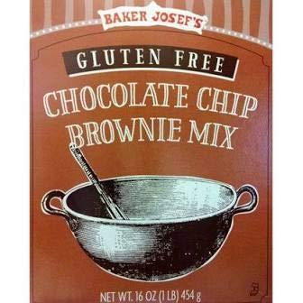 Trader Joe's Gluten Free Chocolate Chip Brownie Mix 16 oz (PACK OF 2)