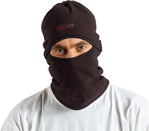 Sturmhaube Polyester schwarz 3in1 Sturmhaube/Schal/Mütze