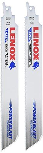 Lenox 20554–424r 10,2 cm 24tpi de coupe Métal Lame de scie sabre – Lot de 5, 24905T9110R