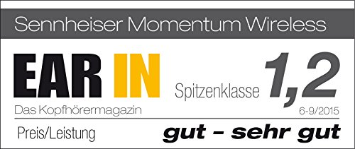 Sennheiser Momentum 2.0 - Casque Audio OnEar - Sans fil - Noir