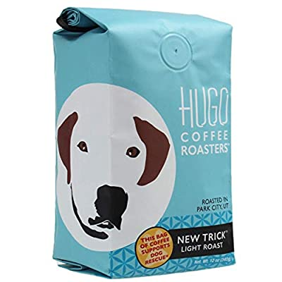 Hugo Coffee | New Trick Light Roast, 12 ounces. | Buy Hugo Coffee and Feed A Rescue Dog