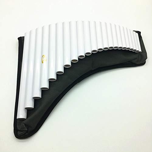 Flauta de pan 22 Pipas Panpipe Hecho A Mano Abs Resina G Key Rumania Flauta Pan Instrumentos Musicales Pan Flauta 22 Para Juego Profesional O Estudio