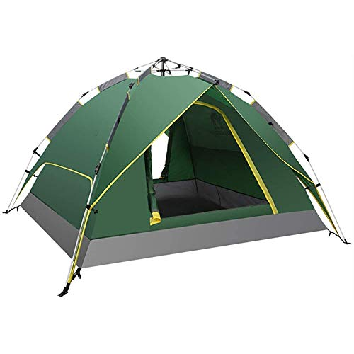 HnF Outdoor Camping Tent, Foldable and Portable, Three Uses, Made of Waterproof Polyester, Easy to Clean, Mesh Windows, Ventilation, Insect Proof