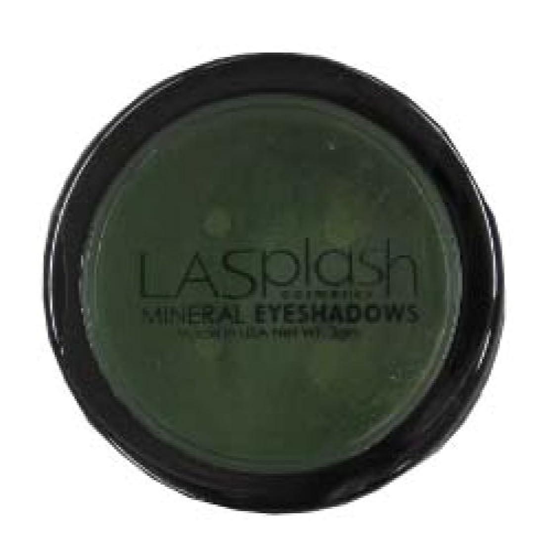 不毛チャネルバランスLASplash ミネラルアイスパークルアイシャドウグリーン257