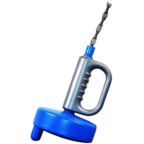 Yxp Drain Snake, Clog Remover, Abwasserrohr Verstopft, Drum Auger Sanitär Mit Stahl Heavy Duty Federkabel Für Küche Bad WC,Blau