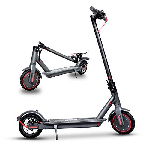 Electric Scooter Faltbarer E-Scooter Elektroroller mit 350W Motor,10.4 Ah Batterie,8.5 inch Honeycomb tire,LED Anzeige Elektro Scooter für Erwachsene Jugendliche