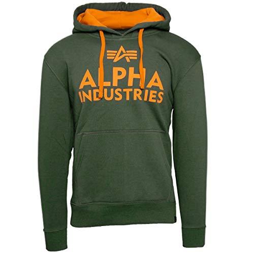 Alpha Industries Herren Kapuzenpullover Foam Print Hoodie